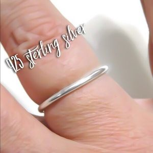 925 SS Thick Band Ring